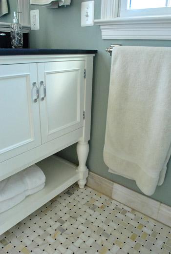 basketweave marble floor tile. main bathroom love marble, Home decor