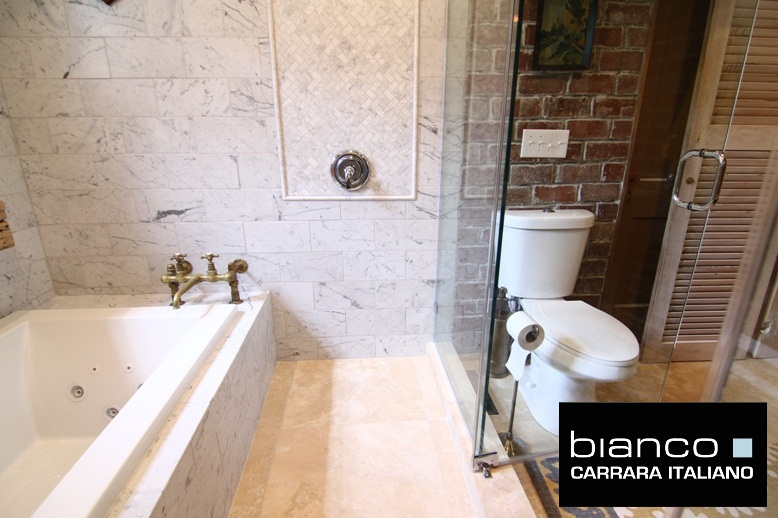 Watch An Installation Of Carrara Bianco On Diy Network