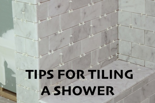 Tiling a bathroom with Marble