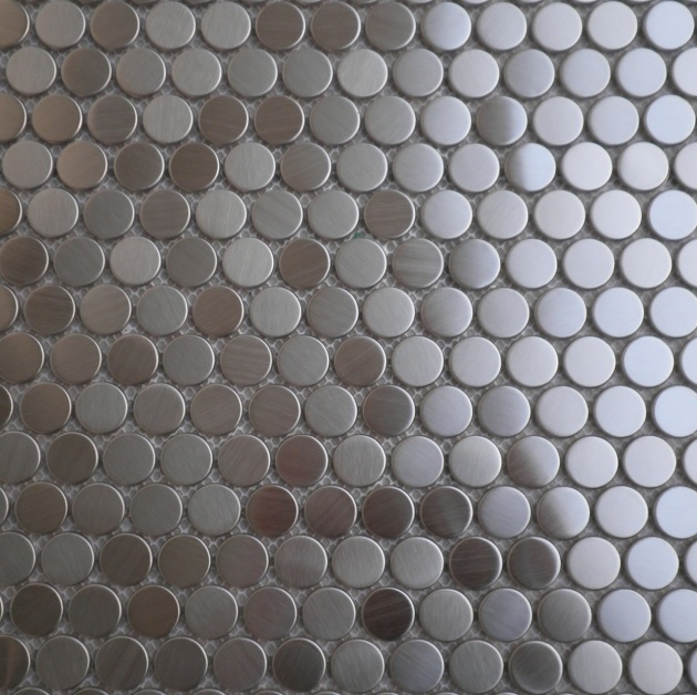Penny rounds Metal Mosaics