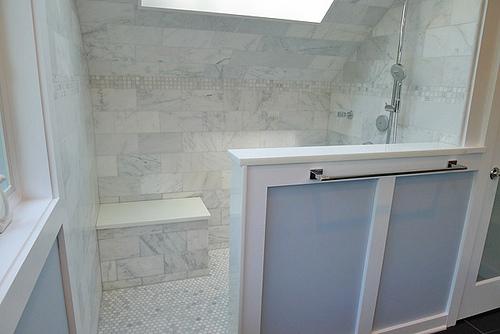 Carrara Venato Used In Bathroom The Builder Depot Blog - 6x12 subway tile shower