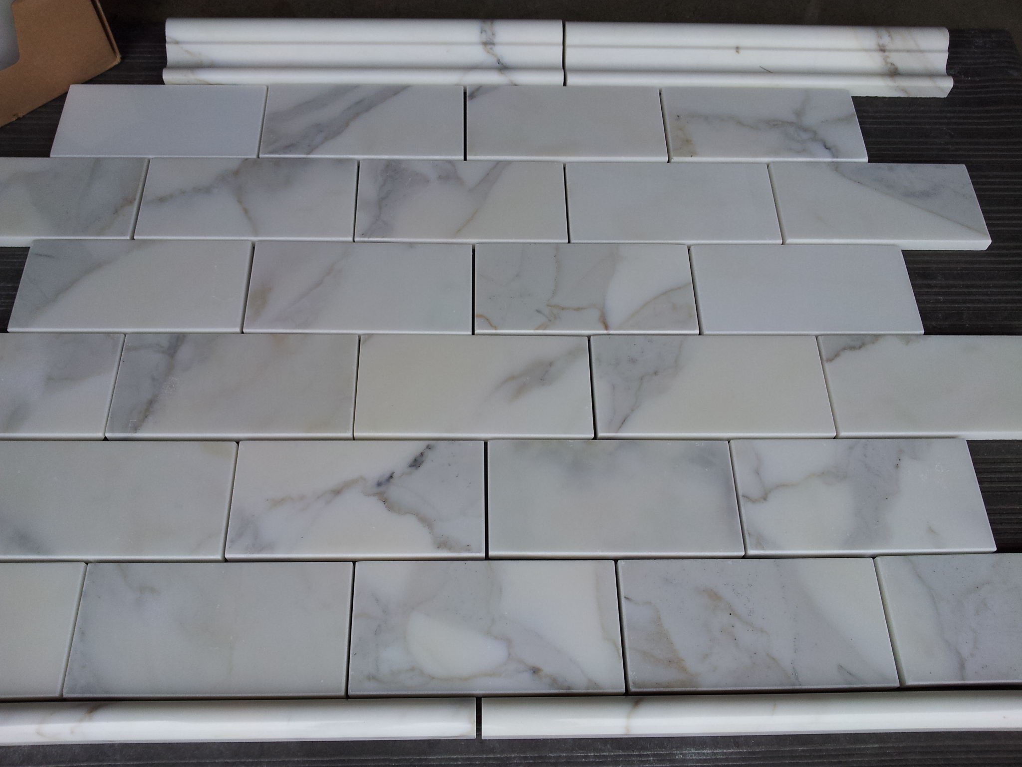 Calacatta 36 subway tile the builder depot blog if dailygadgetfo Choice Image