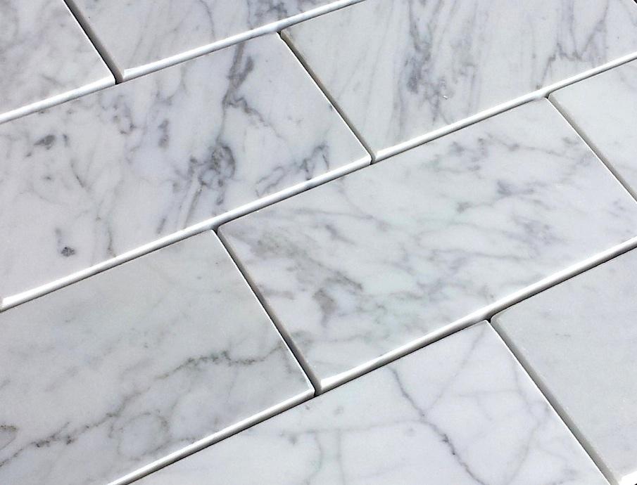 Carrara Bianco 36 Italian Marble Subway Tile The Builder Depot Blog