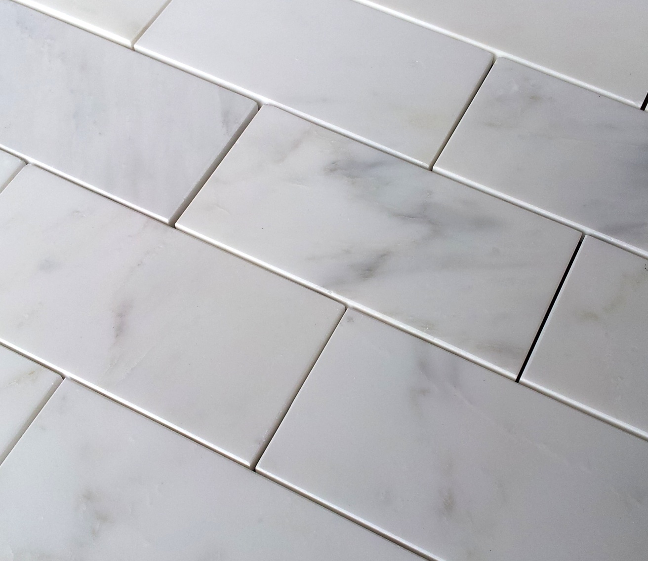 Carrara venato and bianco 36 subway tiles the builder depot blog carrara dailygadgetfo Choice Image