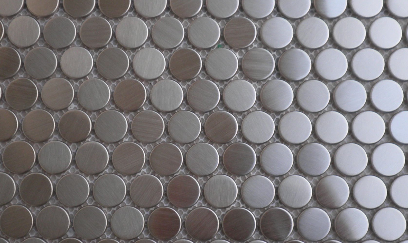 Penny Round Metal Mosaics The Builder Depot Blog