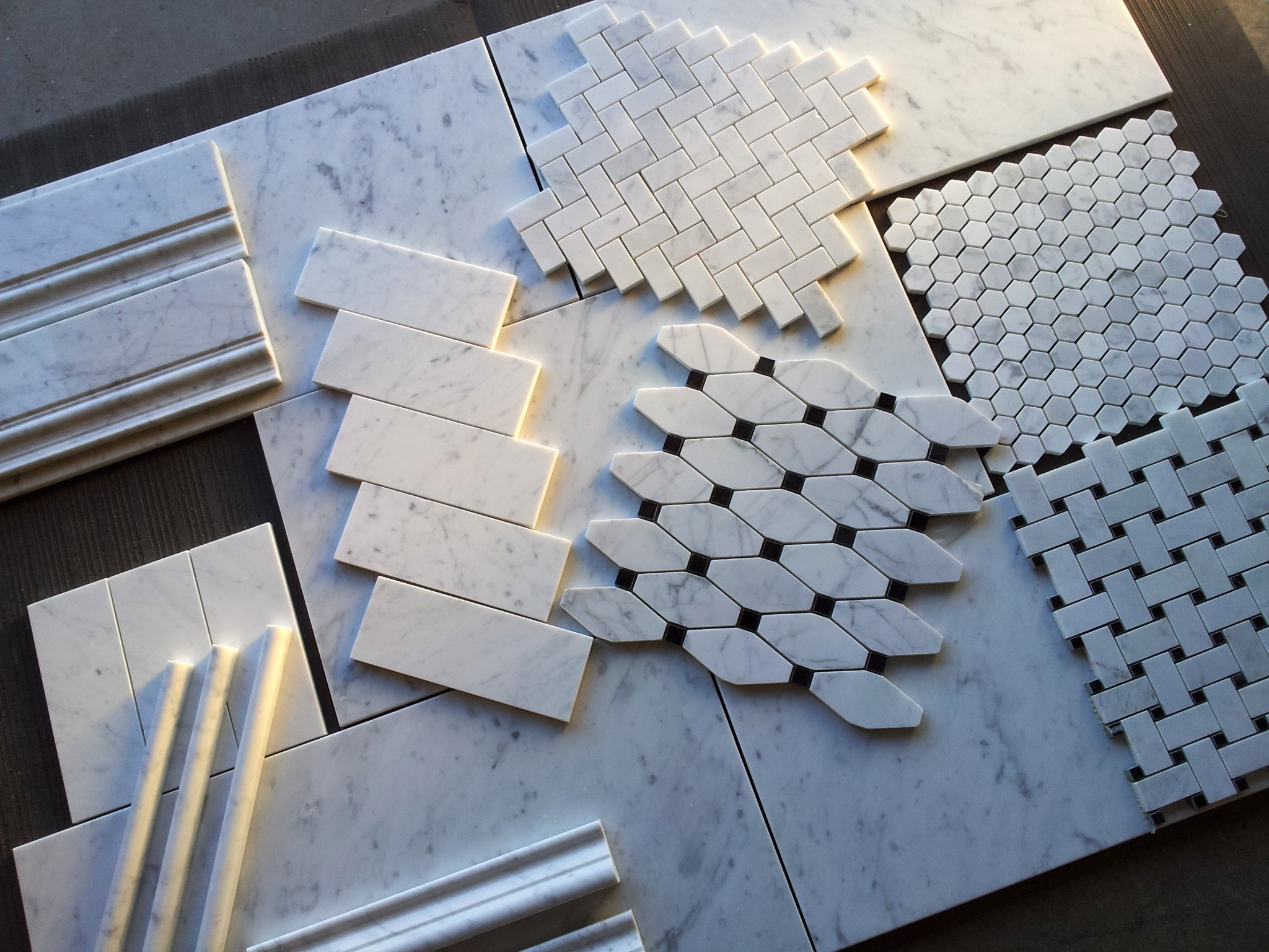 Carrara Bianco Collection Honed The Builder Depot Blog