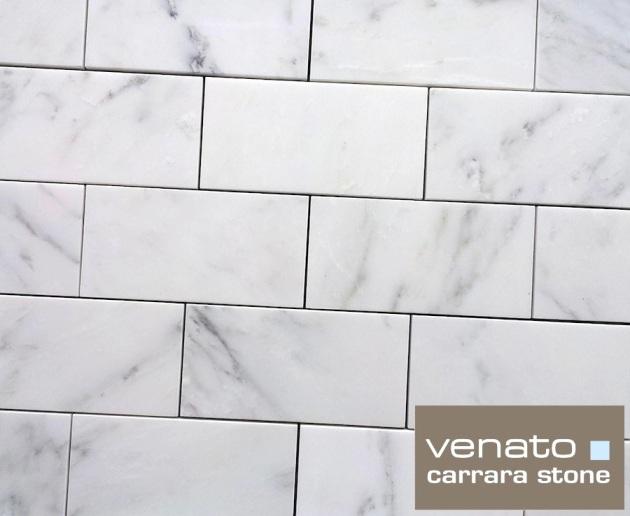 "Carrara Venato 3x6"" Subway Tile"