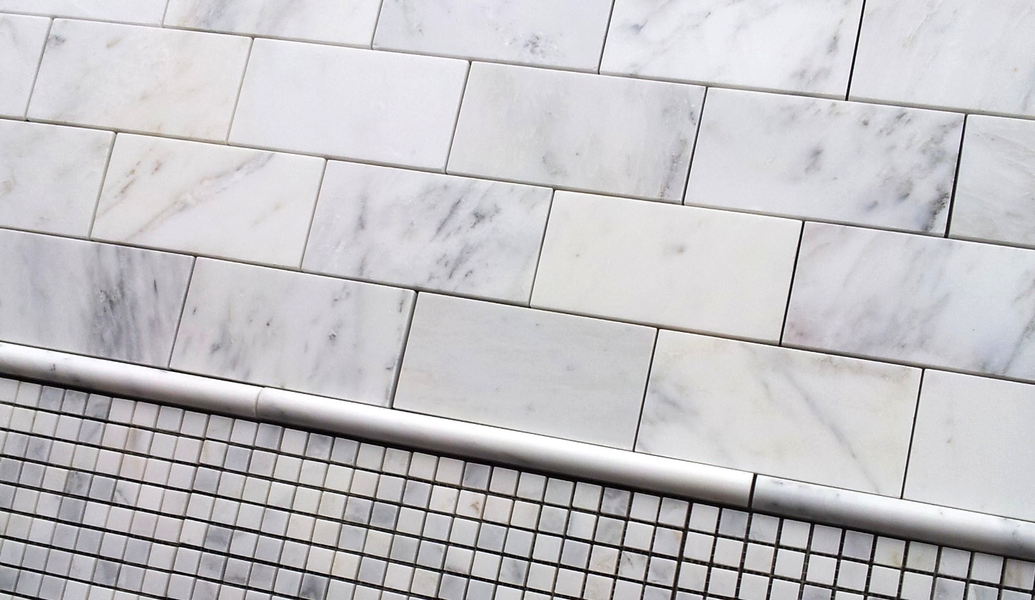 36 subway tile the builder depot blog carrara venato 3x6 subway tile dailygadgetfo Choice Image