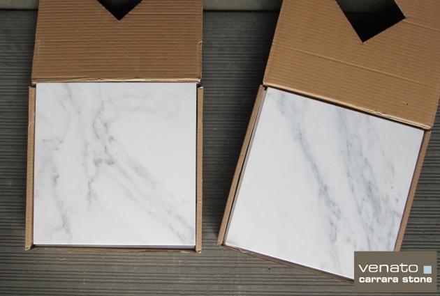 12x12 Carrara Venato Tile