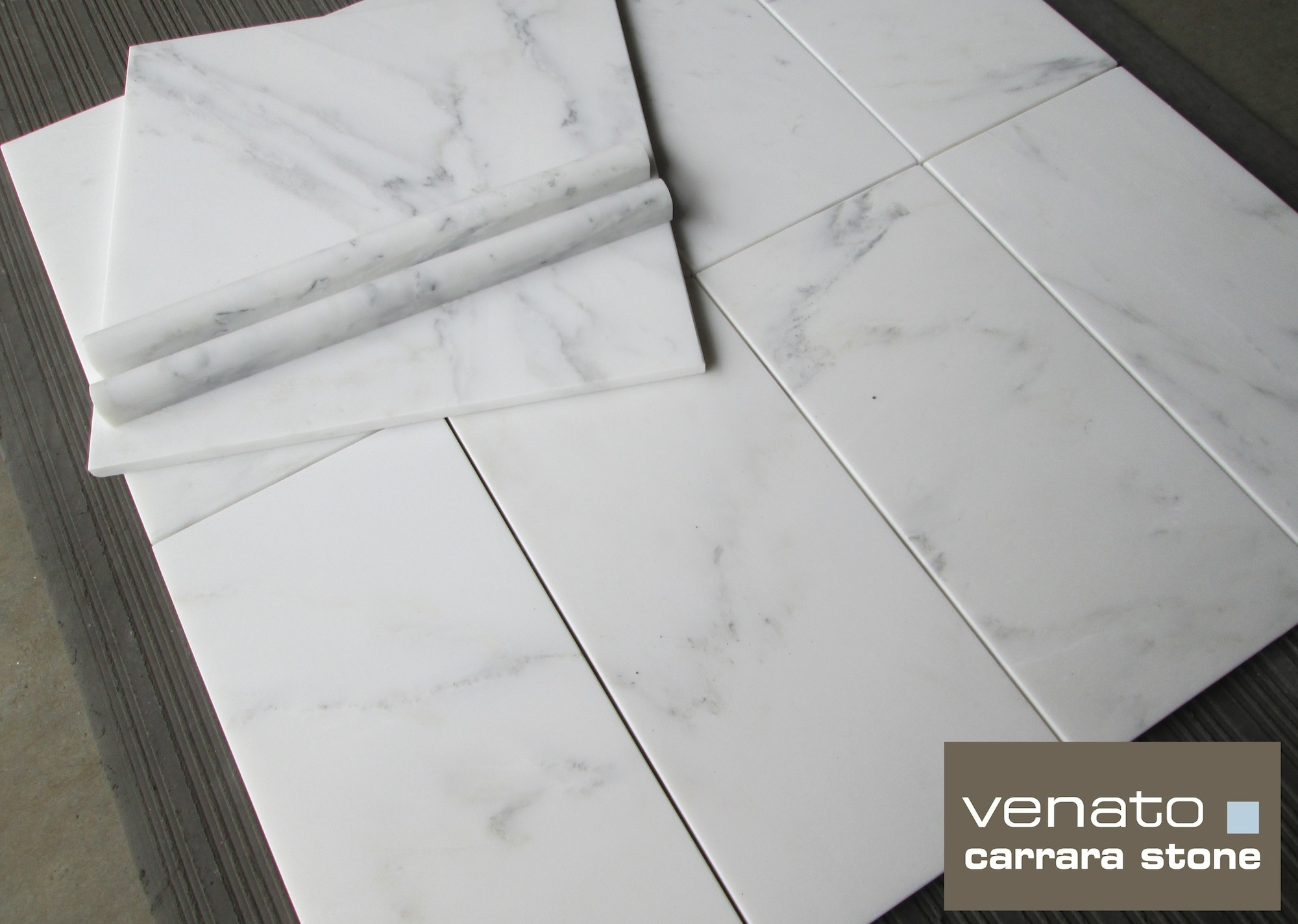 Preferred Venato Carrara 12×12″ and 6×12″ Marble Tile ($7.00SF) | the  BY35