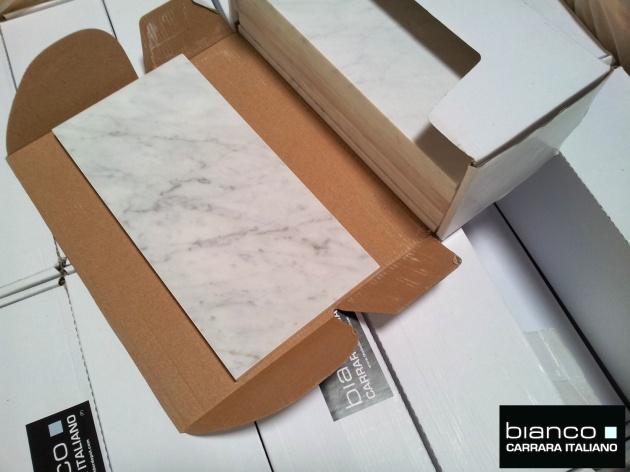 "Carrara Bianco 6x12"" Honed"