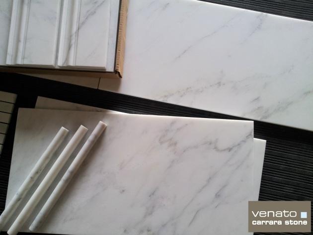"Carrara Venato 12x24"" Marble Tile"