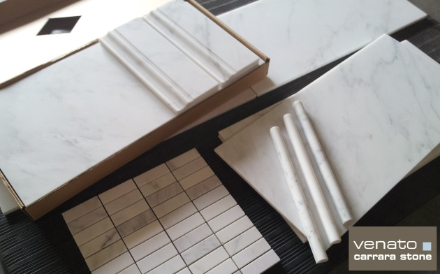 """Carrara Venato 12x24"""" Honed"""
