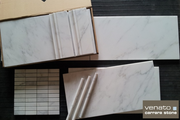 "Carrara Venato 12x24"""