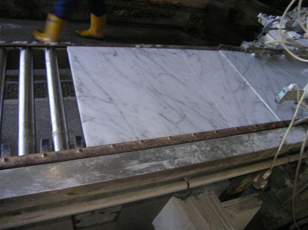 "Carrara Bianco 8x16"""