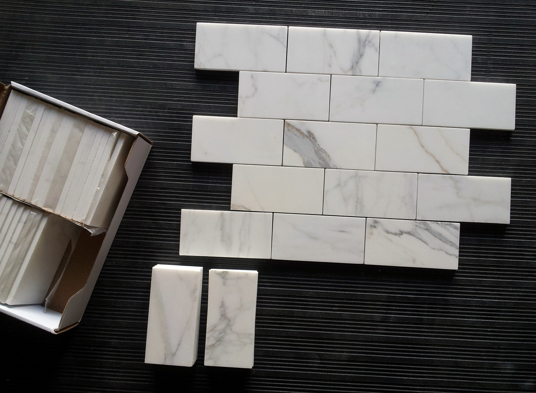 Calacatta gold 36 subway tile honed the builder depot blog calacatta subway tile dailygadgetfo Images
