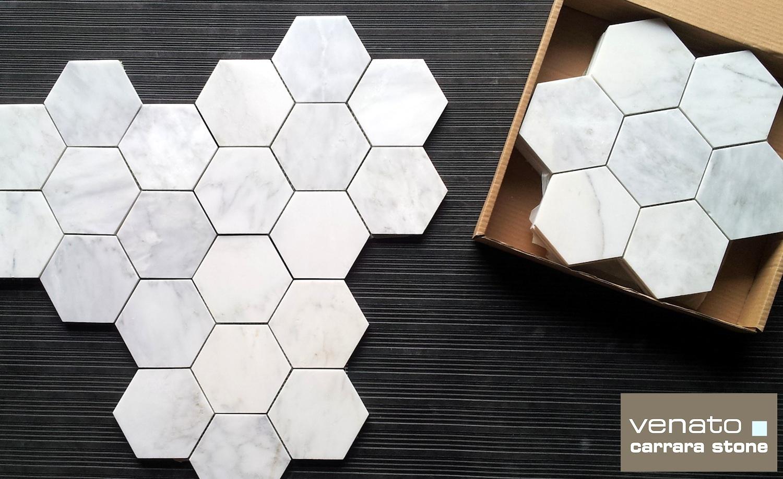 Carrara Venato Hexagon The Builder Depot Blog