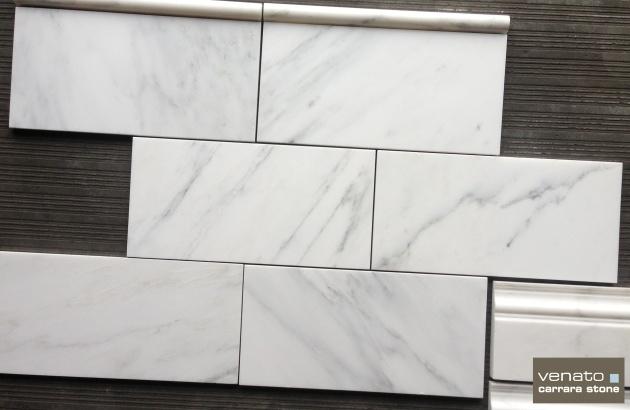 "Carrara Venato 6x12"" Tile"