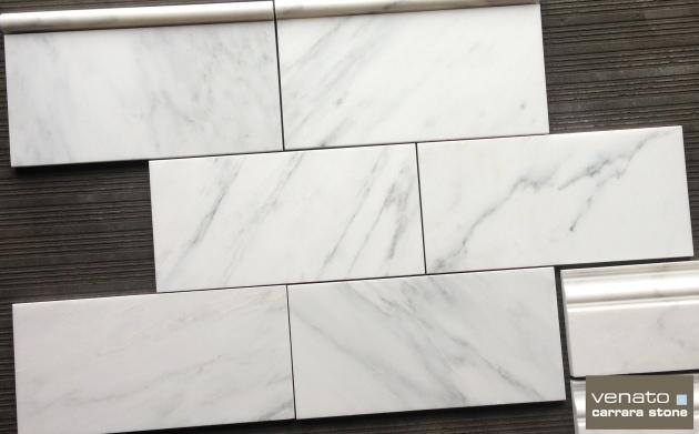 "Carrara Venato 6x12"""
