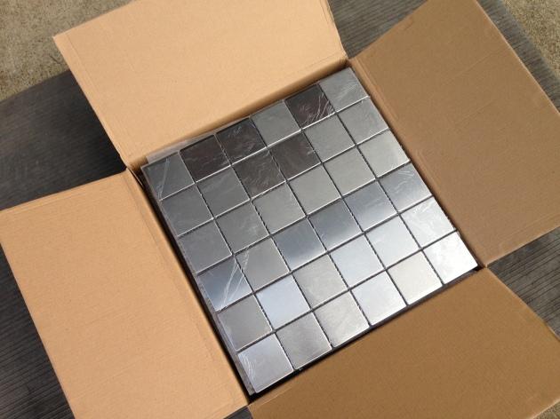 2x2 Metal Mosaic