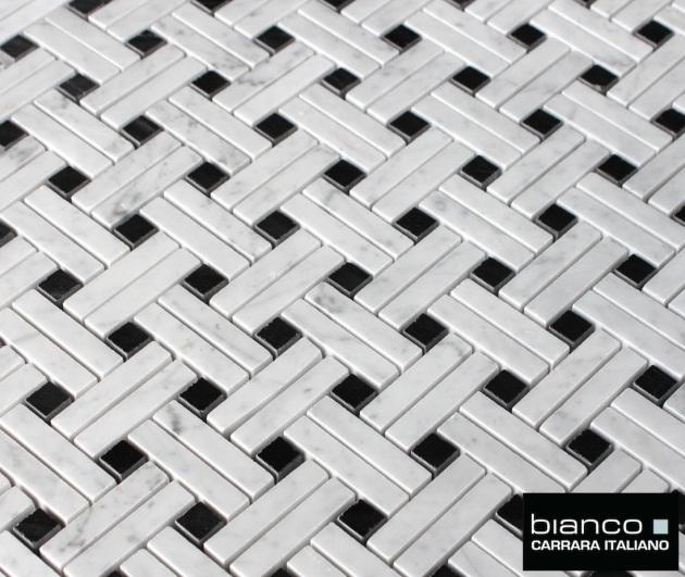 Stanza Basketweave Mosaic