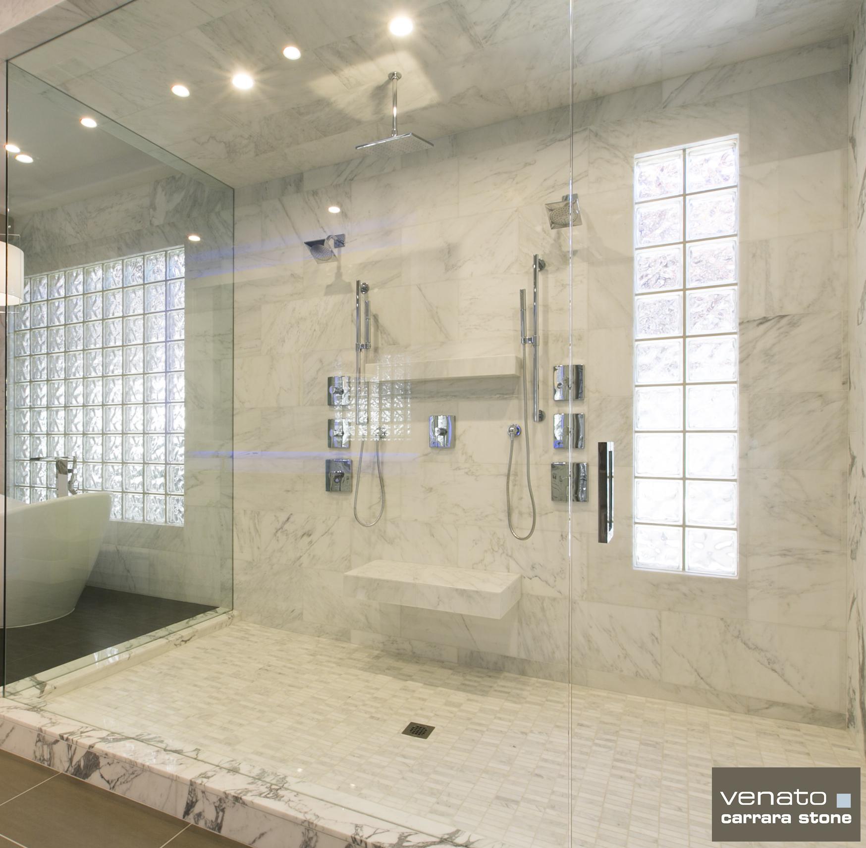 Carrara venato the builder depot blog - Carrara marble floor tile bathroom ...