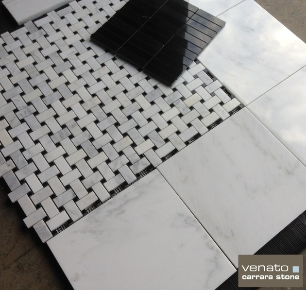 Venato 12x12 Polished and Nero Marquina