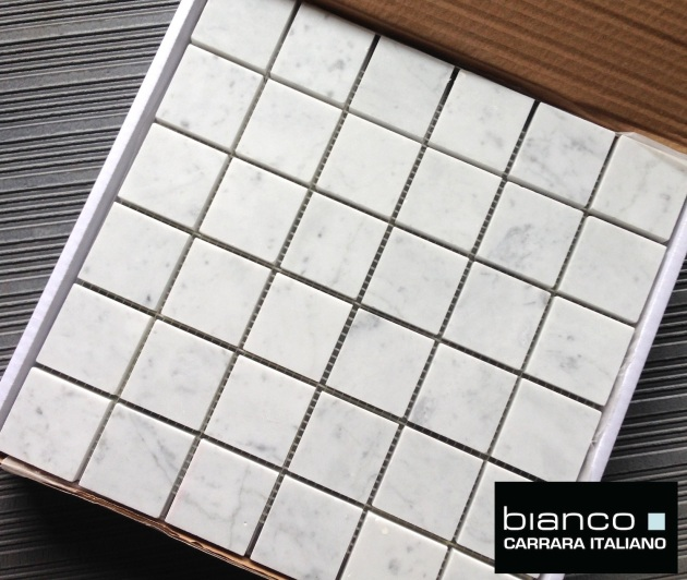 "Italian Marble 2x2"" Honed Mosaic Tile"