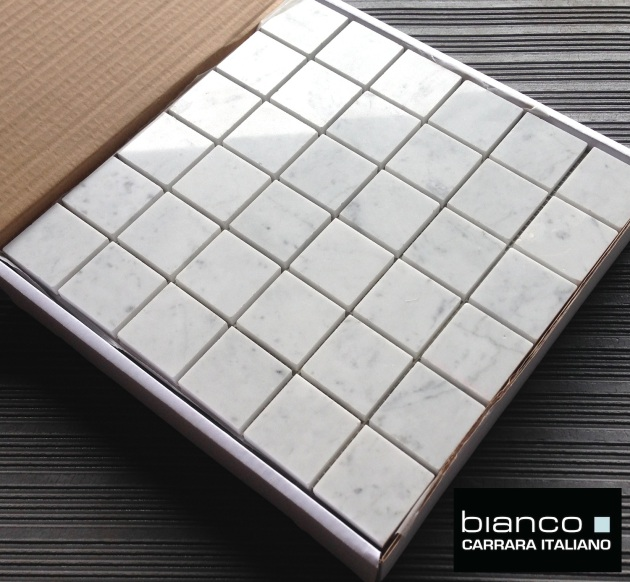 "Italian Marble 2x2"" Polished Tile"