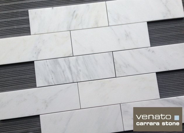 Premium Carrara Venato 4x12 Subway Tile