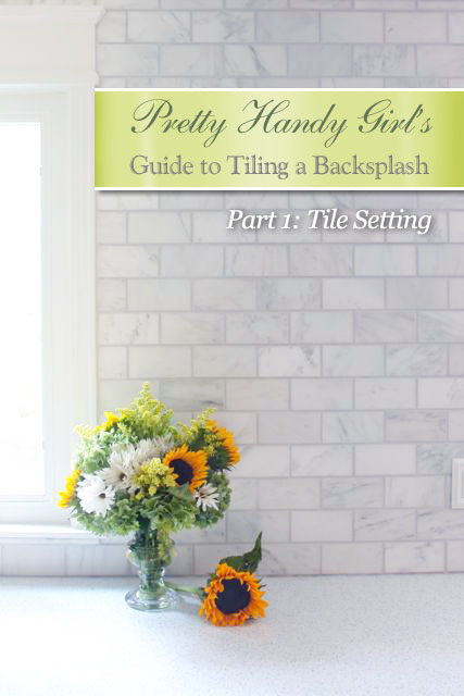 Pretty Handy Girl Guide to Tiling