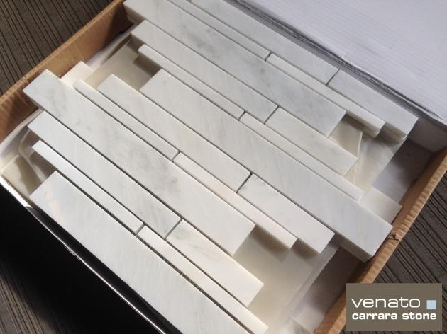 Venato Random Length Brick Mosaic