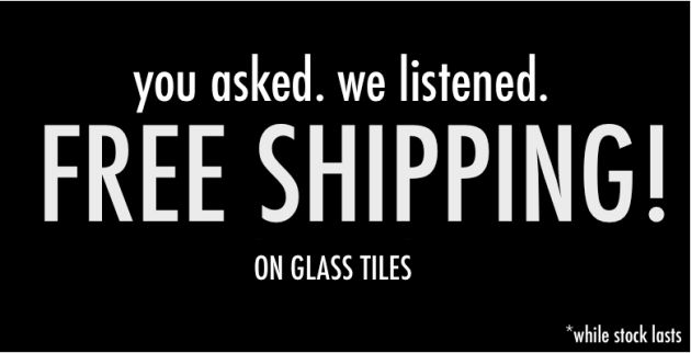Free Shipping Glass Tiles