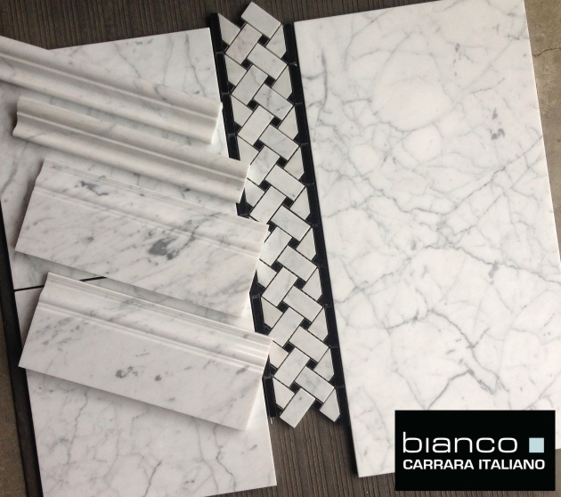 "Perfect Bianco 12x24"" Carrara Tile"