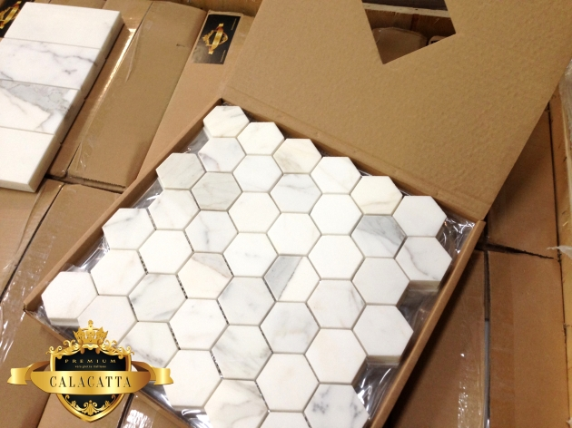 Calacatta Hexagon from The Builder Depot