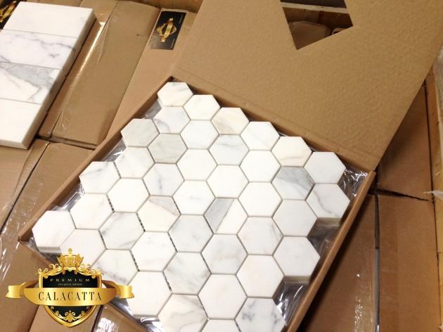 Calacatta Hexagon from The Builder Depot