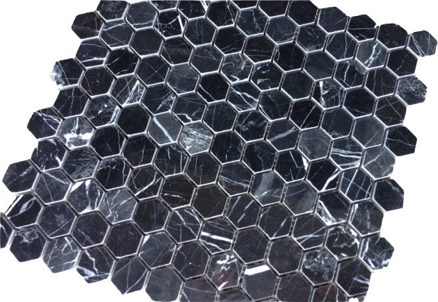 China Black Hexagon