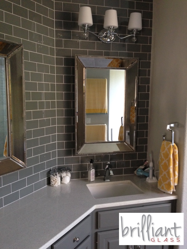 Ocean Gray 3x6 Subway Tile