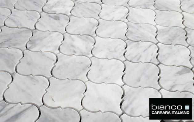Carrara Bianco Arabesque