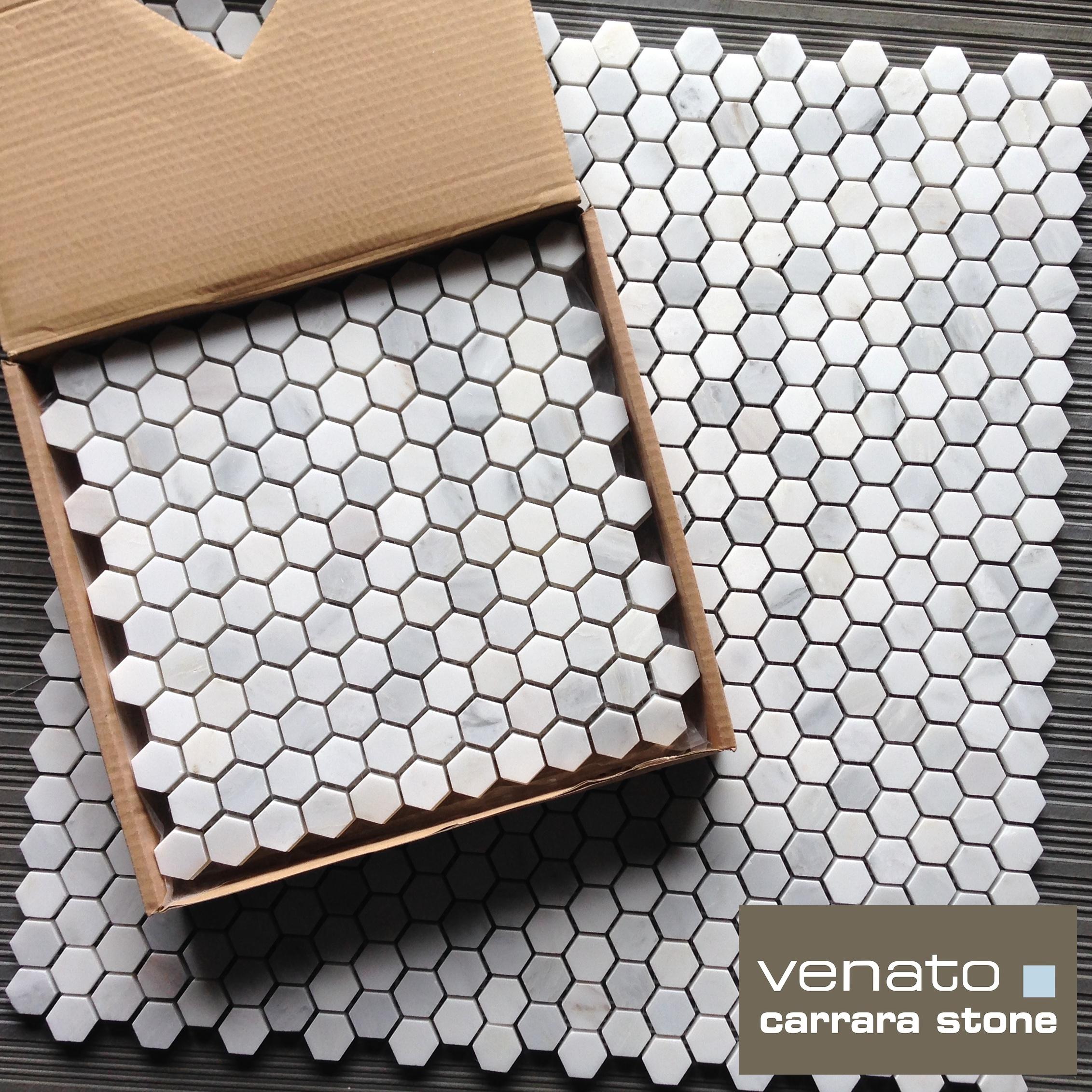 Carrera Marble Tile : Carrara venato the builder depot