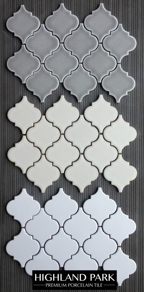 Highland Park Arabesque Porcelain Mosaic Tile