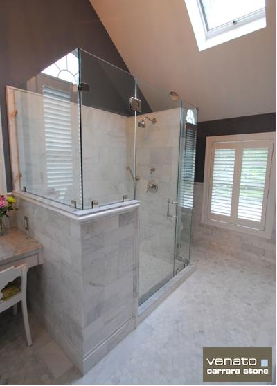 Carrara Venato Bathroom