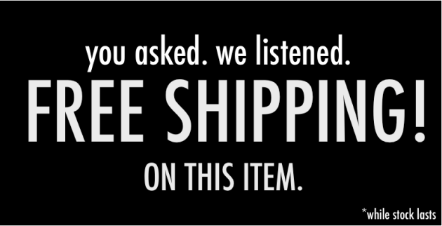 Free Shipping All