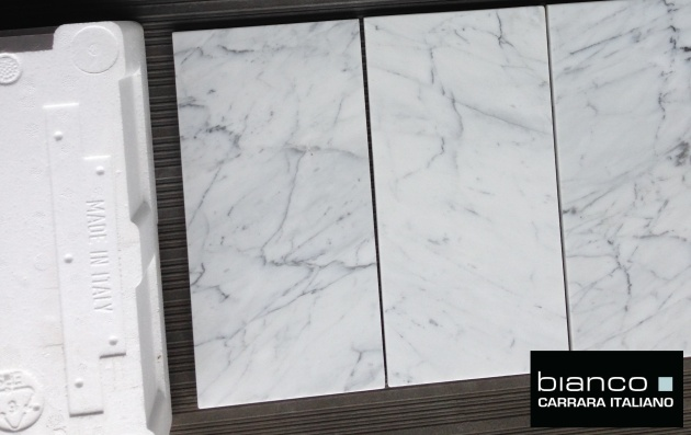 "Carrara Bianco 6x12"" Polished"