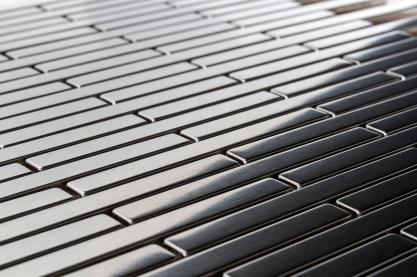 Thin Brick Metal Mosaic