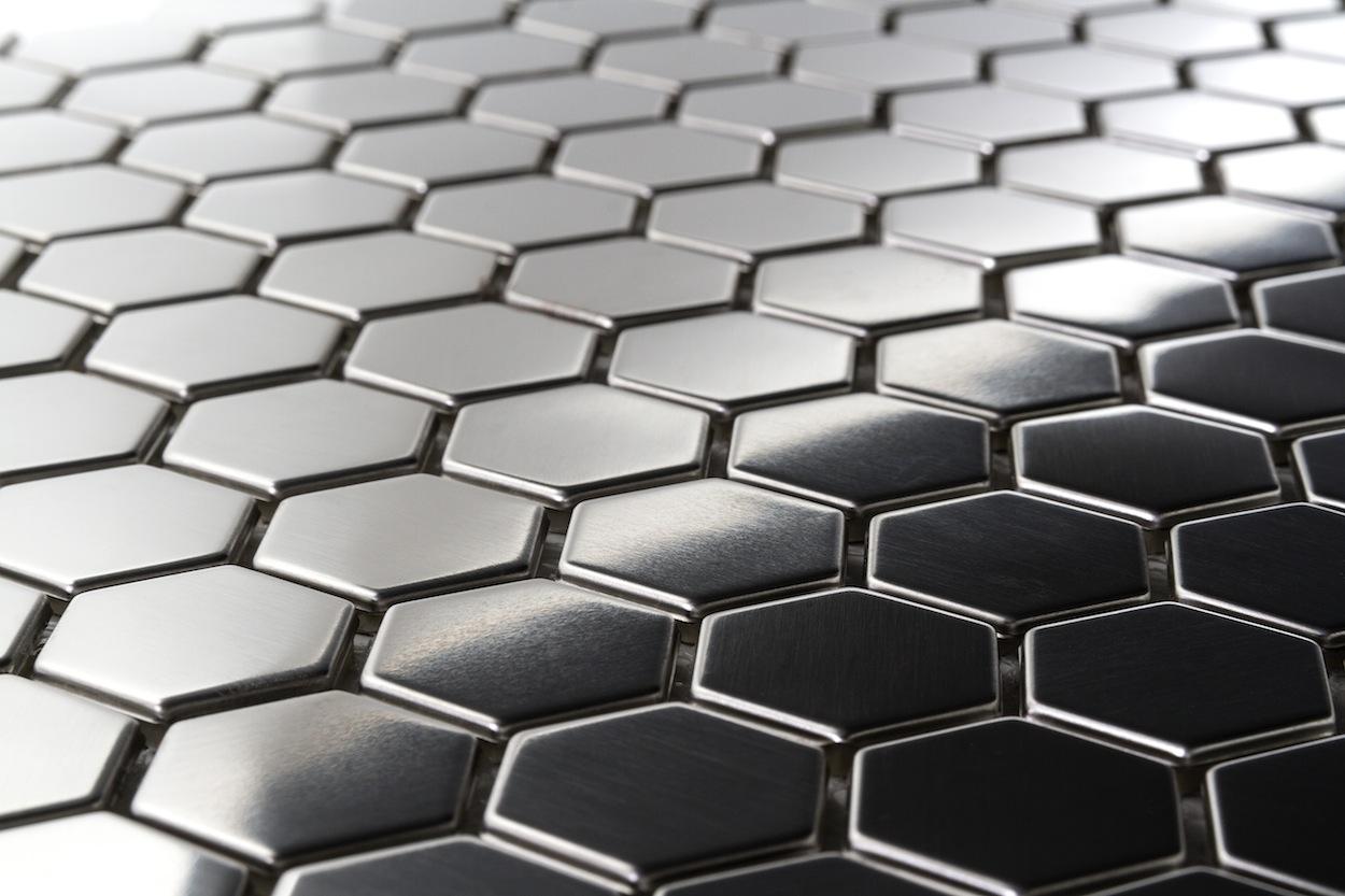 Stainless Steel Metal Mosaic Tiles The Builder Depot Blog