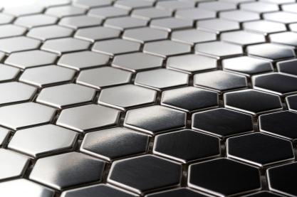 Hexagon Metal Mosaic