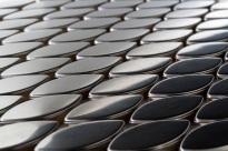 Oval Metal Mosaic