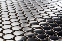 Pennyround Metal Mosaic