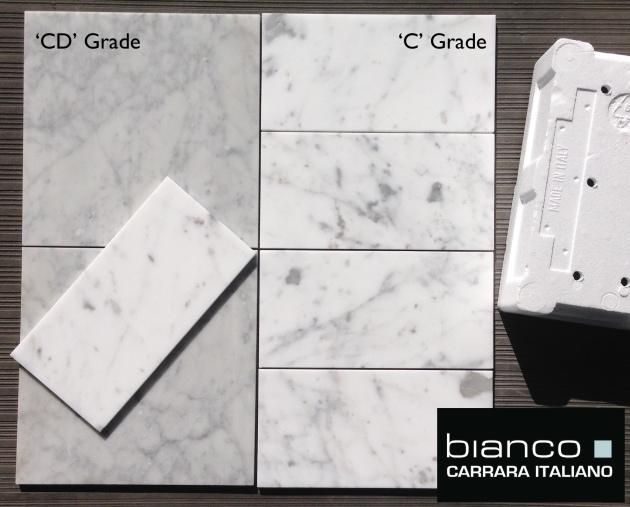"""Carrara 6x12"""" Subway Tile"""